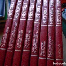 Libros de segunda mano: HISTORIA UNIVERSAL 8 TOMOS. Lote 277711638