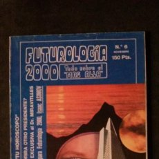 Libros de segunda mano: FUTUROLOGIA 2000 Nº 6-RARA REVISTA DE PARAPSICOLOGIA. Lote 277712448