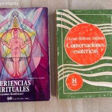 Libros de segunda mano: ¡¡¡OFERTA VERANO!!! - LOTE 2 LIBROS VICENTE BELTRAN ANGLADA. Lote 277715813