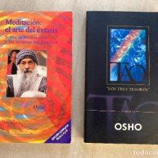 Livros em segunda mão: ¡¡¡OFERTA VERANO!!! - LOTE 2 LIBROS OSHO. Lote 277715993