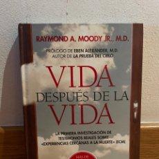 Libros de segunda mano: RAYMOND A. MOODY JR. VIDA DESPUÉS DE LA VIDA. Lote 277740708