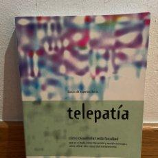 Libros de segunda mano: TELEPATÍA EQUIPO DE EXPERTOS OSIRIS. Lote 277741038