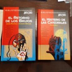 Libros de segunda mano: LIBROS EL RETORNO DE LOS BRUJOS EL MISTERIO DE LAS CATEDRALES BIBLIOTECA AÑO CERO. Lote 277756778