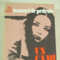 Libros de segunda mano: MANUEL DE PEDROLO, UN CAMI AMB EVA, EDICIONS 62. Lote 277820873