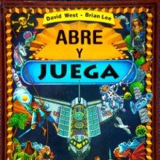 Libros de segunda mano: LIBRO JUEGOS: ABRE Y JUEGA . WEST, DAVID - LEE, BRIAN. EDITORIAL MONTENA. Lote 277849073