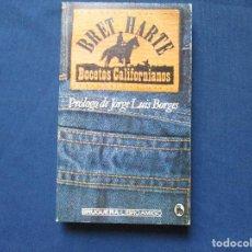 Libros de segunda mano: BOCETOS CALIFORNIANOS / BRET HARTE / 1979 BRUGUERA·LIBRO AMIGO. Lote 278188613