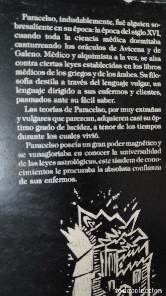 Libros de segunda mano: LOS SIETE LIBROS DE LA ARCHIDOXIA MAGICA con cien grabados y ocho planchas ) PARACELSO HUMANITAS - Foto 4 - 278200383