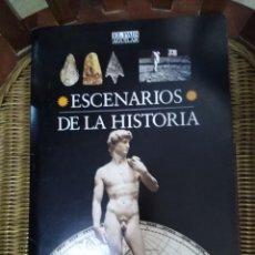 Libros de segunda mano: ESCENARIOS DE LA HISTORIA. Lote 278232513