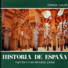 Libros de segunda mano: HISTORIA DE ESPAÑA. TOMO IV. ESPAÑA MUSULMANA (711-1031) LA CONQUISTA. EL EMIRATO. EL CALIFATO. Lote 278234253