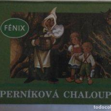 Libros de segunda mano: PERNIKOVA CHALOUPKA ( HANSEL Y GRETEL ). PRAGA : FENIX, 1991. 20X26CM DESPLEGABLE. Lote 278268893