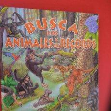 Libros de segunda mano: BUSCA LOS ANIMALES Y SUS RECORDS -SUSAETA. Lote 278268953