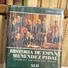 Libros de segunda mano: LA TRANSICIÓN A LA DEMOCRACIA Y LA ESPAÑA DE JUAN CARLOS I HISTORIA DE ESPAÑA MENÉNDEZ PIDAL XLII. Lote 278270983