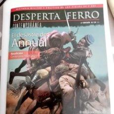 Libros de segunda mano: DESPERTA FERRO CONTEMPORANEA Nº 30 , EL DESATRE DE ANNUAL .. Lote 278277068