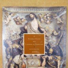 Libros de segunda mano: EL RETABLO MAYOR DE LA CATEDRAL DE BARBASTRO . RESTAURACIÓN 2002. Lote 278323668