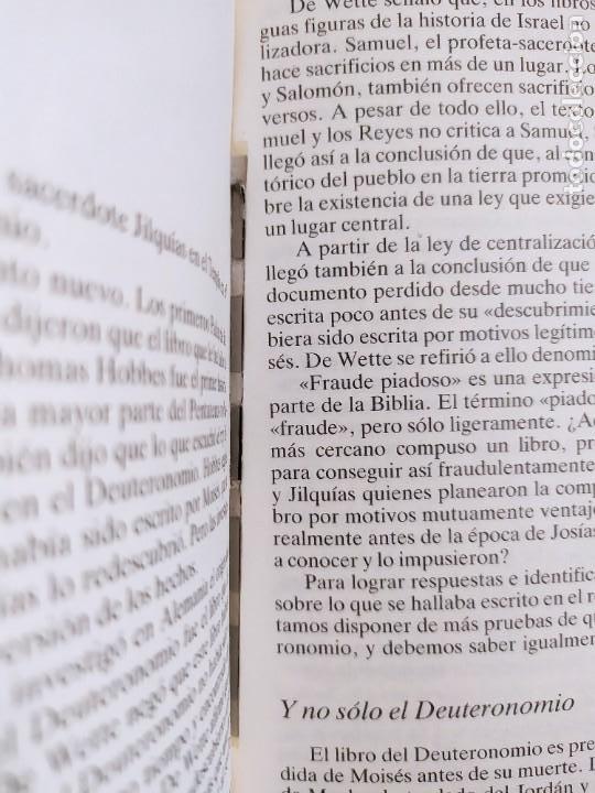 Libros de segunda mano: QUIEN ESCRIBIO LA BIBLIA / RICHARD ELLIOTT FRIEDMAN / 1988. MARTINEZ ROCA - Foto 3 - 278330343