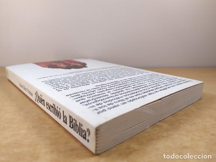 Libros de segunda mano: QUIEN ESCRIBIO LA BIBLIA / RICHARD ELLIOTT FRIEDMAN / 1988. MARTINEZ ROCA - Foto 7 - 278330343