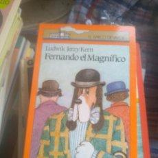 Libros de segunda mano: FERNANDO EL MAGNIFICO-LUDWIK JERZY KERN-EL BARCO DE VAPOR-SM. Lote 278334238