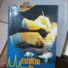 Libros de segunda mano: LIBRO ERROR DE DIAGNOSTICO HENRY DENKER 1981 CIRCULO DE LECTORES L-23704-23. Lote 278409088