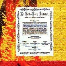 Libros de segunda mano: EL FOLK-LORE ANDALUZ. ÓRGANO DE LA SOCIEDAD DE ESTE NOMBRE. VV.AA. AN-267. Lote 278414288