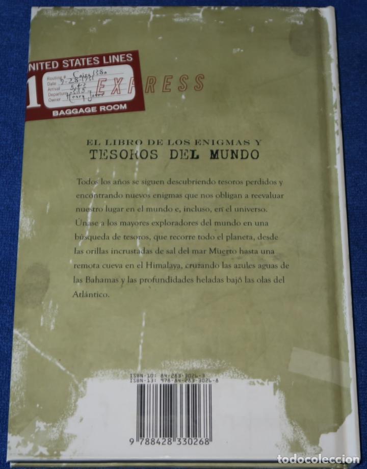 Libros de segunda mano: El libro de los enigmas y Tesoros del mundo - Michael Bradley - Paraninfo (2009) - Foto 7 - 278427213