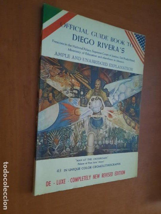 OFFICIAL GUIDE BOOK TO DIEGO RIVERA´S. RÚSTICA. BUEN ESTADO. INGLÉS. DIFICIL (Libros de Segunda Mano - Bellas artes, ocio y coleccionismo - Otros)