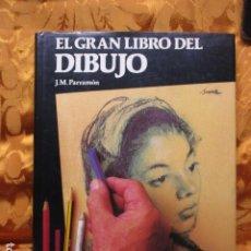 Libros de segunda mano: EL GRAN LIBRO DEL DIBUJO. J.M. PARRAMON. Lote 278626553