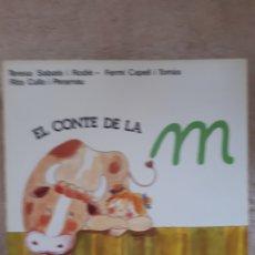 Libros de segunda mano: EL CONTE DE LA M - SABATE CAPELL CULLA - ED. SALVATELLA. Lote 278669073