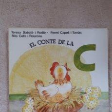 Libros de segunda mano: EL CONTE DE LA C - SABATE CAPELL CULLA - ED. SALVATELLA. Lote 278669483