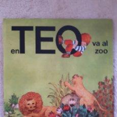 Libros de segunda mano: EN TEO VA AL ZOO - TIMUN MAS - EN CATALAN. Lote 278673423
