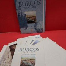 Libros de segunda mano: COLECCIONABLE...BURGOS DESDE EL AIRE...24 CUADERNILLOS..COMPLETO...1999.... Lote 278699518