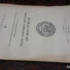 Libros de segunda mano: 1946 - BIBLIOGRAFÍA HISTÓRICA DE SEVILLA: VEINTE INCUNABLES SEVILLANOS QUE TRATAN DE HISTORIA. Lote 278753908