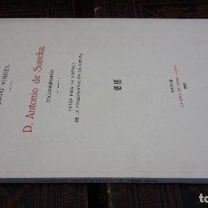 Libros de segunda mano: 2002 - PEDRO VINDEL - ANTONIO DE SANCHA, ENCUADERNADOR. DATOS PARA LA HISTORIA DE LA ENCUADERNACIÓN. Lote 278754083