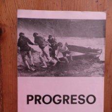 Libros de segunda mano: PROGRESO(PINTOR VALENCIANO) MOSTRA DI PITTURA. RISTORANTE BARCHI. BRESCIA. 1977. Lote 278755673