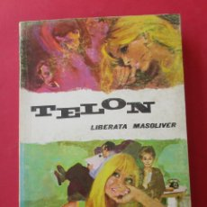 Libros de segunda mano: ´TELÓN´. LIBERATA MASOLIVER. JAIMES LIBROS 1969. 353 PÁGINAS.. Lote 278760408