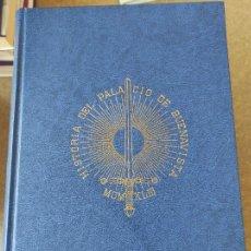 Libros de segunda mano: HISTORIA DEL PALACIO DE BUENAVISTA, HOY DÍA MINISTERIO DEL EJÉRCITO - JOAQUÍN MARTÍNEZ FRIERA. Lote 278761653