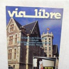 Libros de segunda mano: REVISTA VIA LIBRE Nº 260 SEPTIEMBRE DE 1985. Lote 278824803