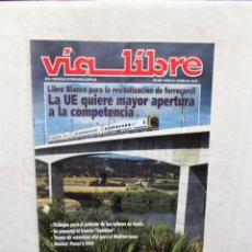 Libros de segunda mano: REVISTA VIA LIBRE Nº 391 OCTUBRE DE 1990. Lote 278824998