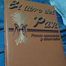 Libros de segunda mano: EL LIBRO DEL PAN PANES ESPECIALES Y DE FANTASÍA TÉCNICAS Y APLICACIONES DEL DECORADO PIEZAS ARTÍSTIC. Lote 278846248