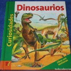 Libros de segunda mano: CURIOSADES - DINOSAURIOS - LIBRO CON VENTANAS. Lote 278849218
