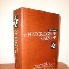 Libros de segunda mano: DICCIONARI D'HISTORIOGRAFIA CATALANA - ENCICLOPEDIA CATALANA, MOLT BON ESTAT, TELA. Lote 278849613