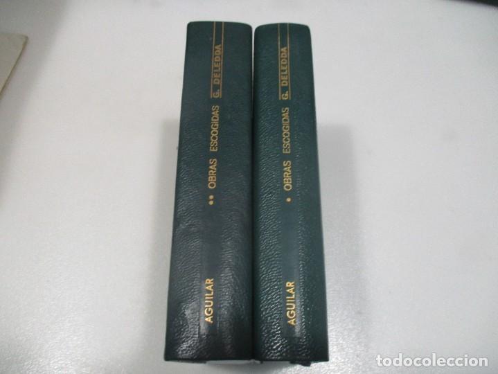 GRAZIA DELEDDA OBRAS ESCOGIDAS (2 TOMOS) W8392 (Libros de Segunda Mano (posteriores a 1936) - Literatura - Otros)