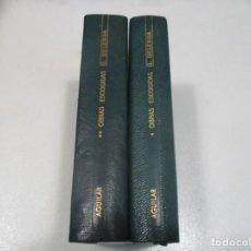 Libros de segunda mano: GRAZIA DELEDDA OBRAS ESCOGIDAS (2 TOMOS) W8392. Lote 278881893