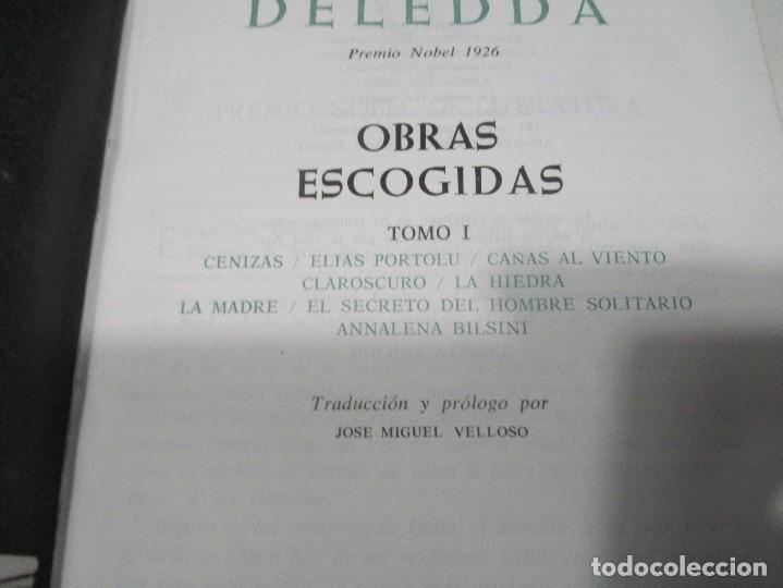 Libros de segunda mano: GRAZIA DELEDDA Obras escogidas (2 Tomos) W8392 - Foto 4 - 278881893