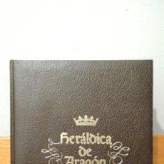 Libros de segunda mano: HERALDICA ARAGONESA ~ ARAGON Y SUS PUEBLOS ~ EDICIONES MONCAYO. Lote 278885658
