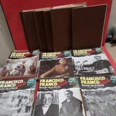 Libros de segunda mano: COLECCIONABLE...FRANCISCO FRANCO..BIOGRAFIA HISTORICA...91 FASCICULOS....COMPLETO.... Lote 278885748
