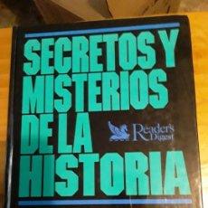 Libros de segunda mano: SECRETOS Y MISTERIOS DE LA HISTORIA.READERS DIGEST.1993.448 PAGINAS. Lote 278919848