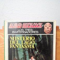 Libros de segunda mano: ALFRED HITCHCOCK - LOS TRES INVESTIGADORES ~ MISTERIO DEL LAGO FANTASMA. Lote 278924328