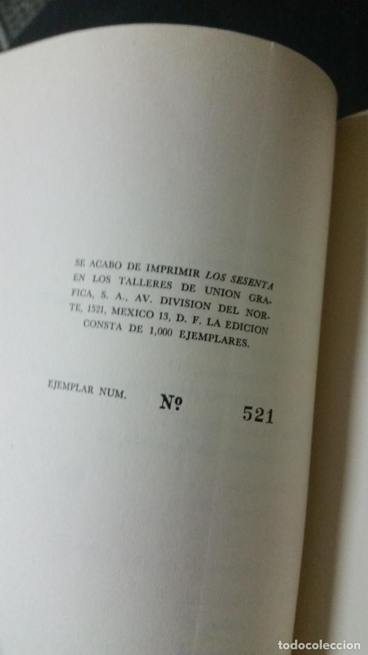 Libros de segunda mano: 1964 - ALBERTI, MAX AUB, VICENTE ALEIXANDRE (y otros). Los sesenta. Revista literaria. COMPLETA - Foto 8 - 278956573