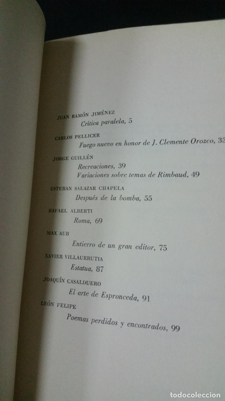 Libros de segunda mano: 1964 - ALBERTI, MAX AUB, VICENTE ALEIXANDRE (y otros). Los sesenta. Revista literaria. COMPLETA - Foto 9 - 278956573