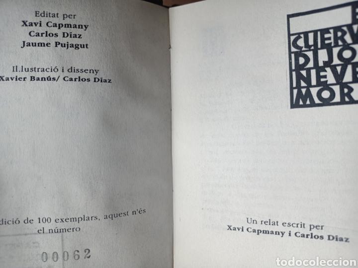 Libros de segunda mano: EL CUERVO DIJO NEVER MORE, XAVI CAPMANY I CARLOS DIAZ, RELATO / STORY, 1992 - Foto 2 - 278967758